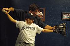 youth baseball lesson